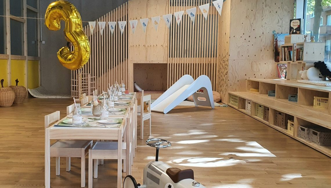 Celebrate kid's birthday parties at Tadah Kids Space